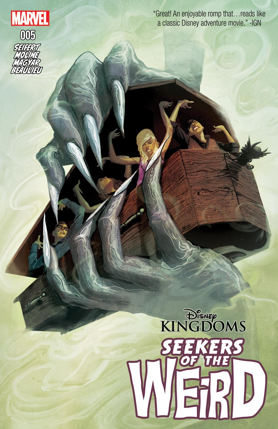 Disney Kingdoms: Seekers of the Weird (2014) #5