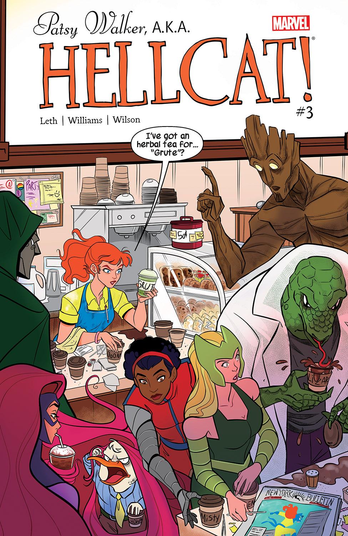 Patsy Walker, A.K.A. Hellcat! (2015) #3