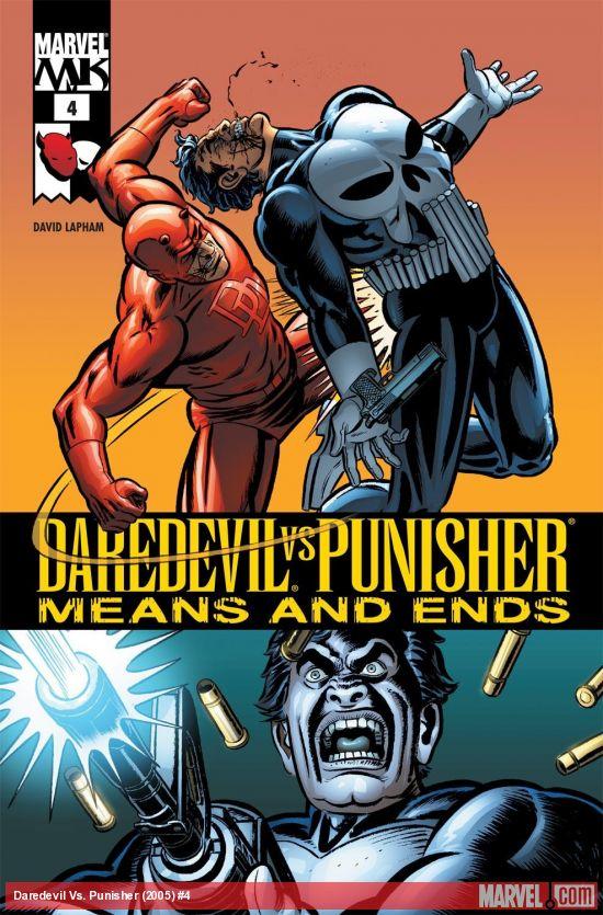 Daredevil Vs. Punisher (2005) #4