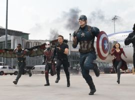 Team Cap makes their move in Marvel's 'Captain America: Civil War,' in theaters May 6!