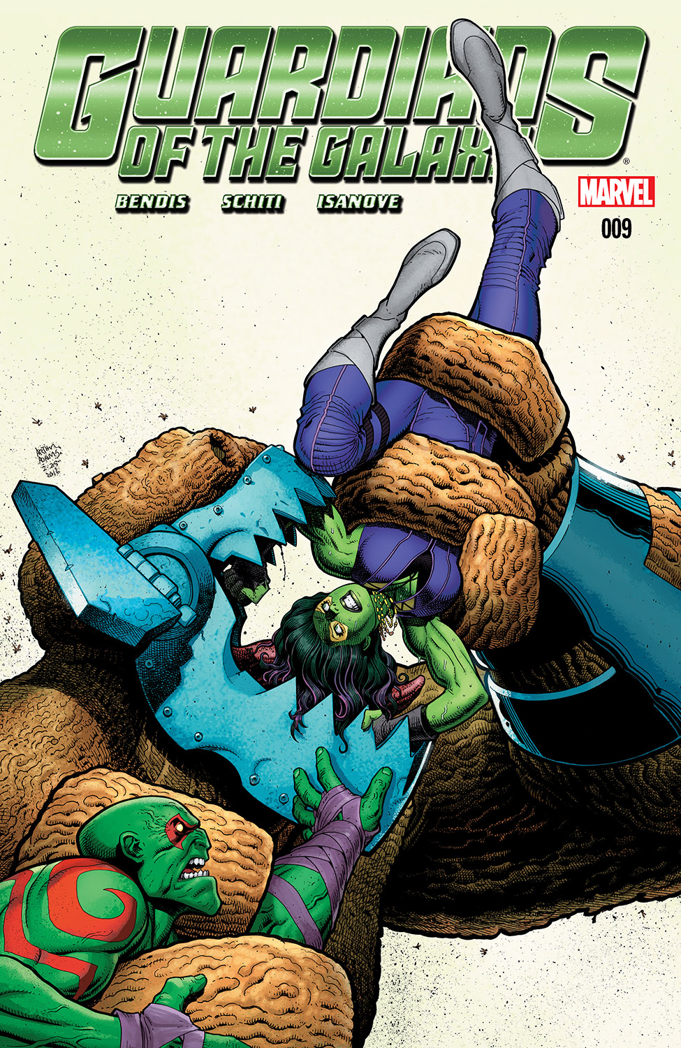 Guardians of the Galaxy (2015) #9