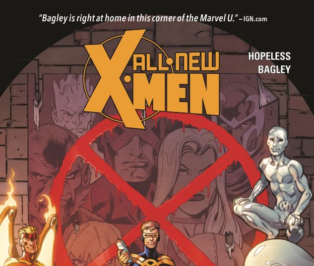 cover to ALL-NEW X-MEN: INEVITABLE VOL. 1 - GHOSTS OF CYCLOPS