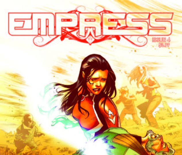 cover from Empress (2016) #4