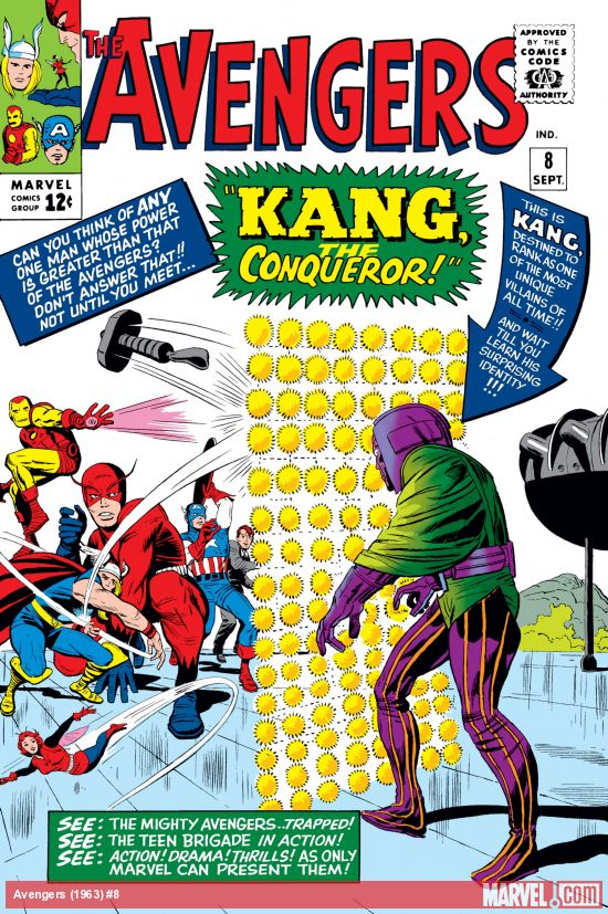 Avengers (1963) #8