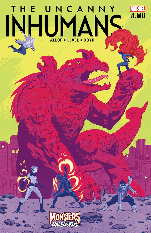Uncanny Inhumans (2015) #1.1