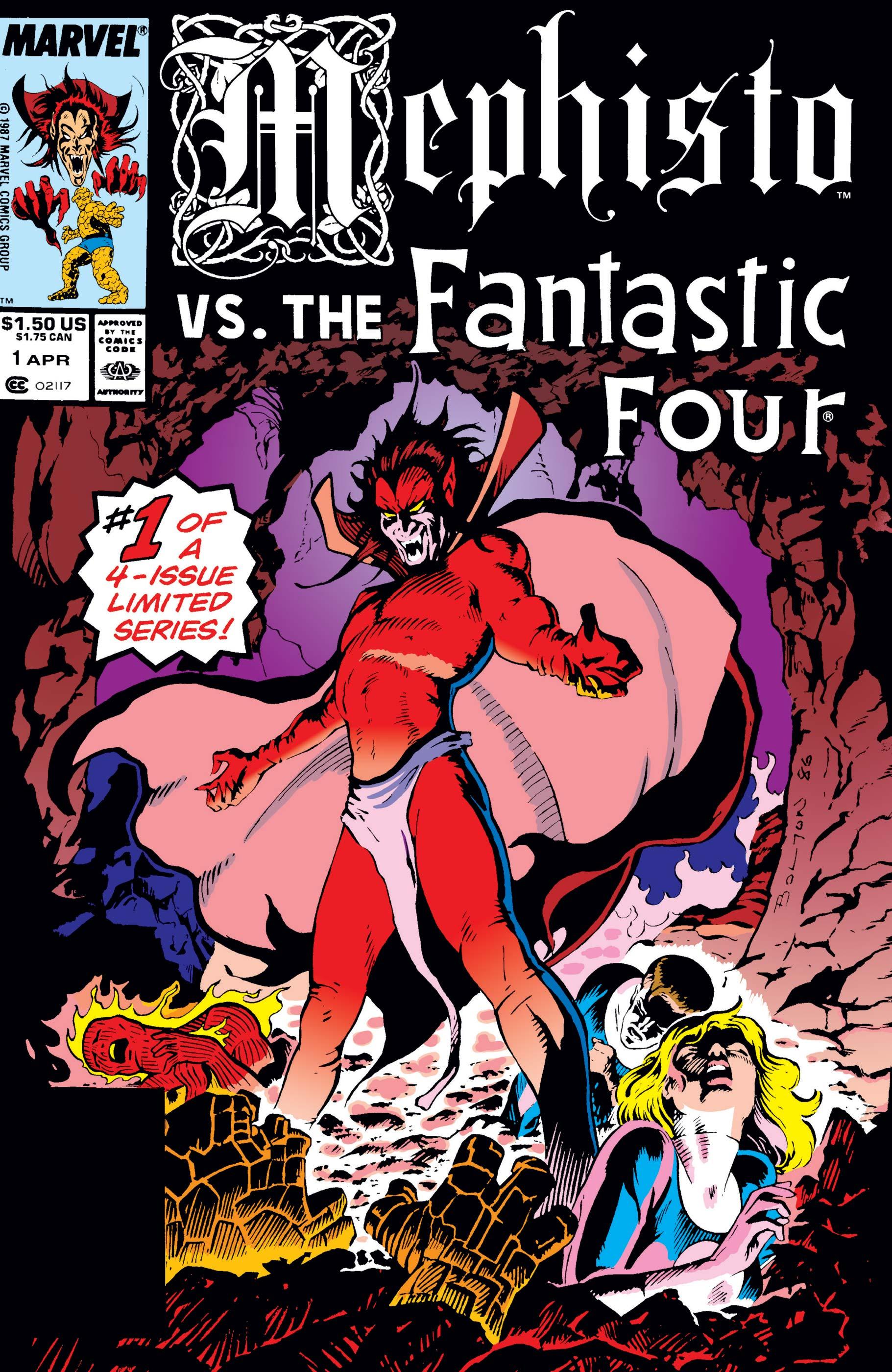 Mephisto Vs. (1987) #1