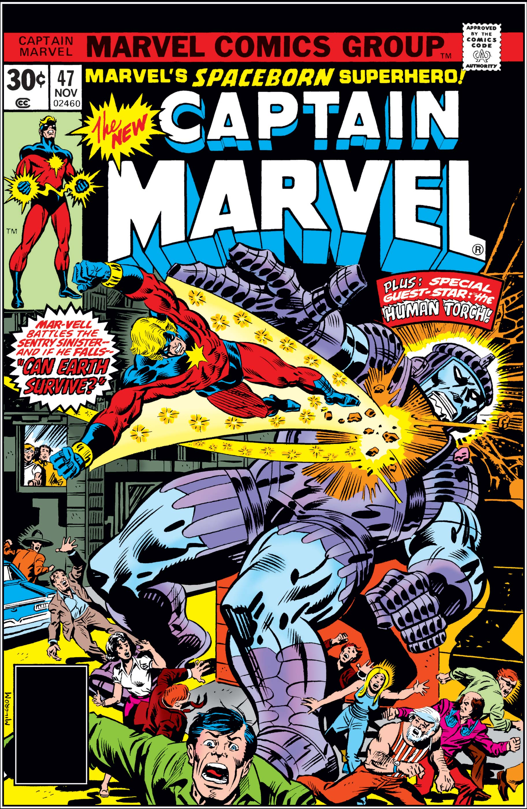 Captain Marvel (1968) #47