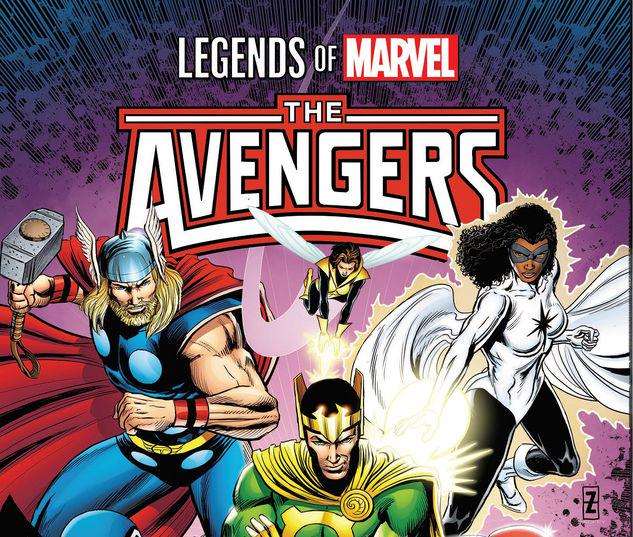LEGENDS OF MARVEL: AVENGERS TPB #1