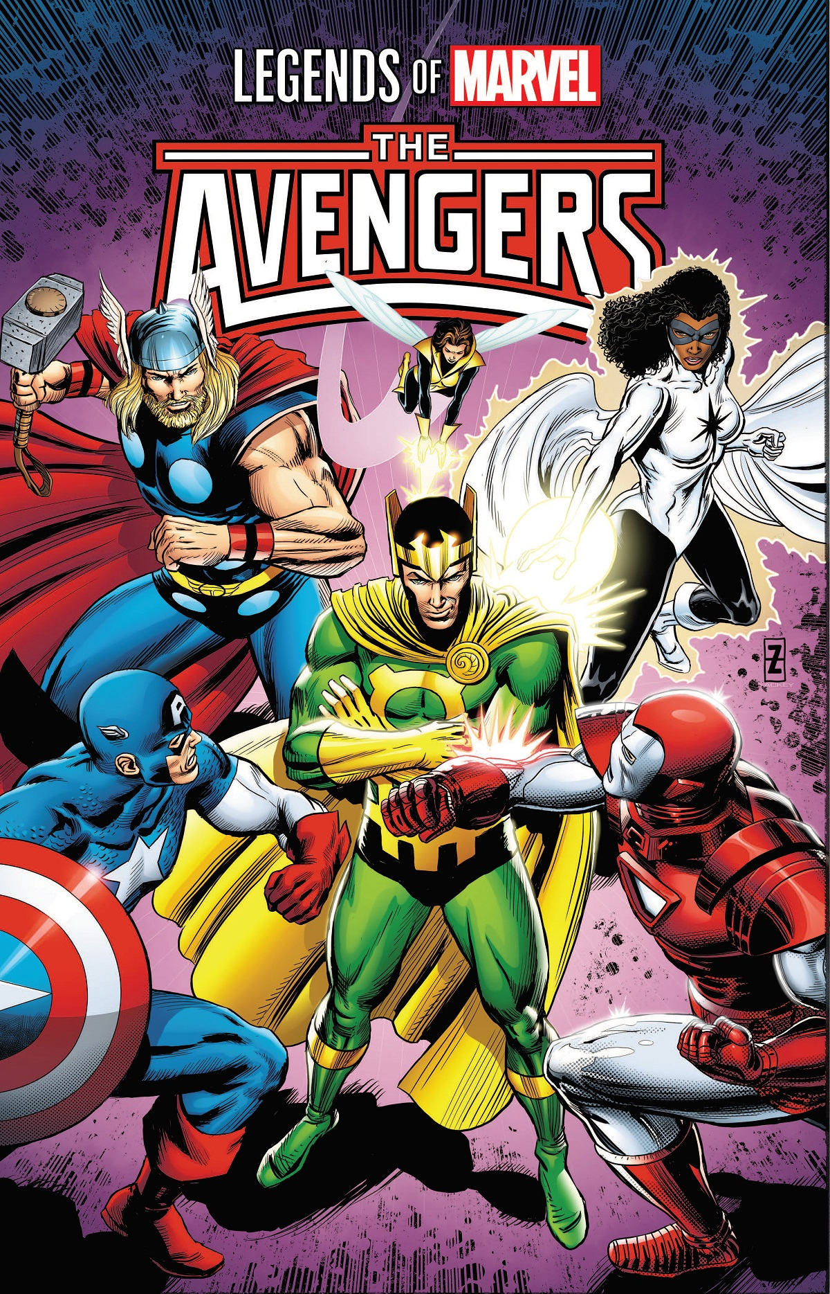 Legends Of Marvel: Avengers (Trade Paperback)