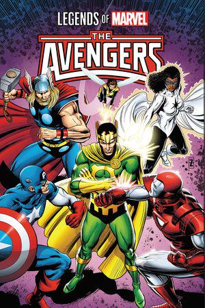 Legends Of Marvel: Avengers (Trade Paperback)