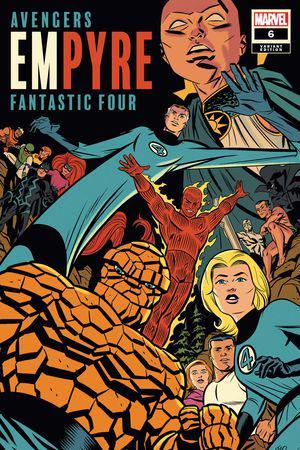 Empyre #6  (Variant)