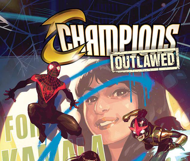 CHAMPIONS VOL. 1: OUTLAWED TPB #1