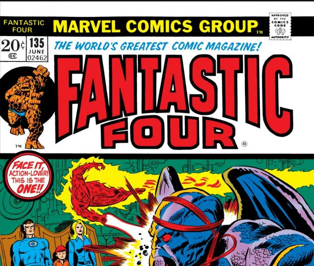 Fantastic Four (1961) #135 Cover
