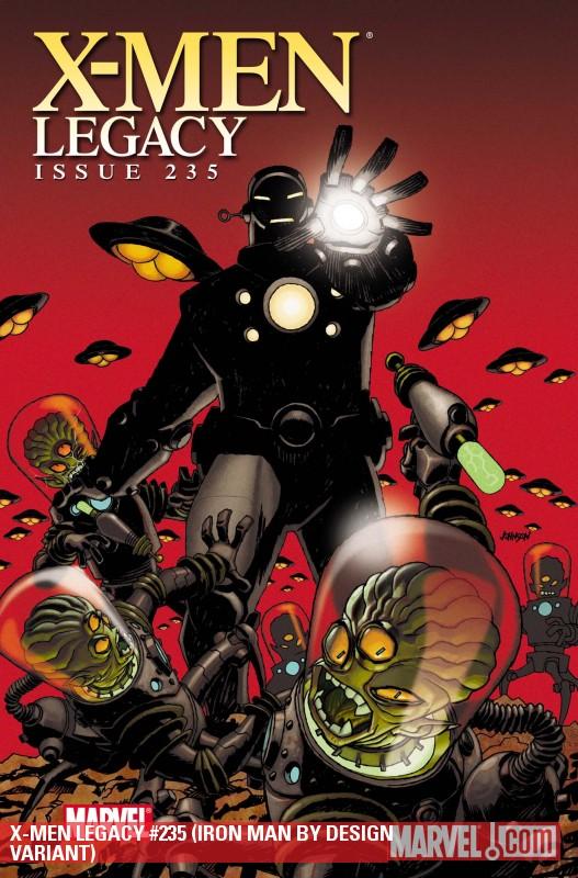 X-Men Legacy (2008) #235 (IRON MAN BY DESIGN VARIANT)