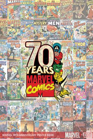 Marvel 70th Anniversary Poster Book (2009) #1