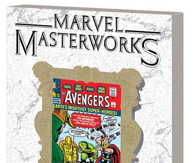 MARVEL MASTERWORKS: THE AVENGERS VOL. 1 TPB  #0