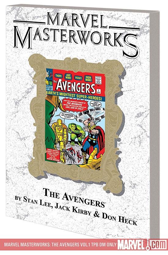 Marvel Masterworks: The Avengers Vol. 1 (Trade Paperback)