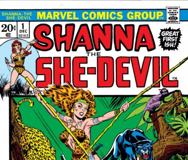 Shanna the She-Devil #1