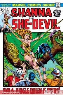 Shanna the She-Devil (1972) #1
