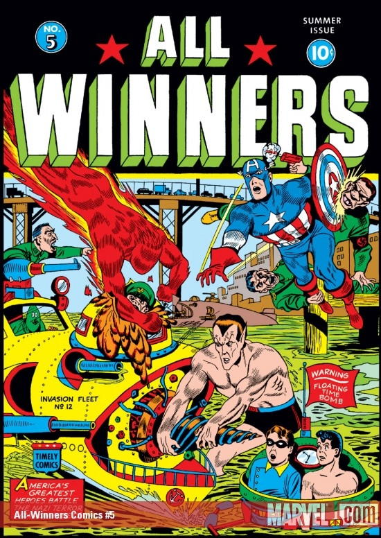 All-Winners Comics (1941) #5