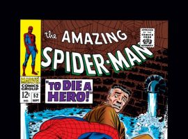 AMAZING SPIDER-MAN #52 COVER