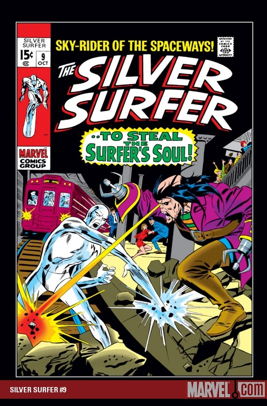 Silver Surfer (1968) #9
