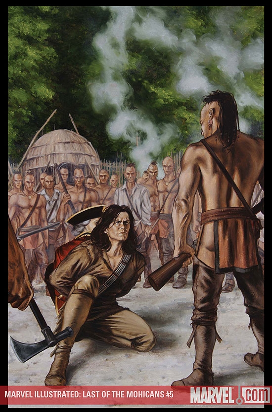 Marvel Illustrated: Last of the Mohicans (2007) #5