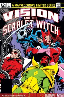 Vision and the Scarlet Witch #3