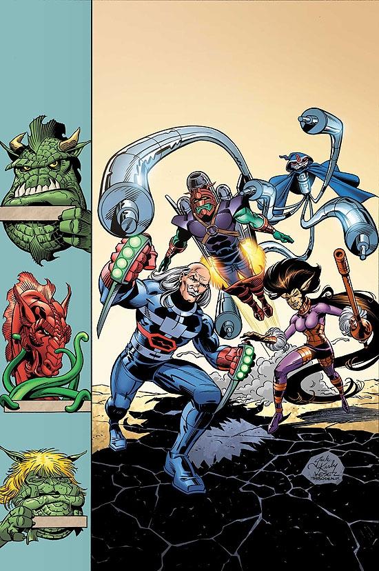 Jack Kirby's Galactic Bounty Hunters (2006) #5