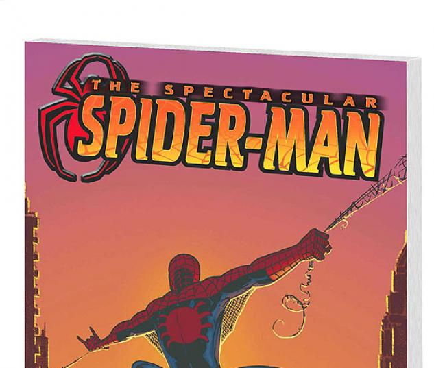 SPECTACULAR SPIDER-MAN VOL. 6: THE FINAL CURTAIN COVER