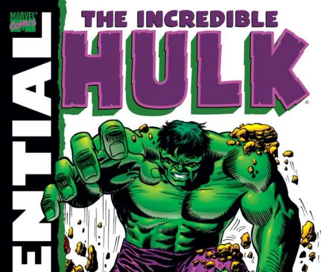 ESSENTIAL INCREDIBLE HULK VOL. II TPB COVER