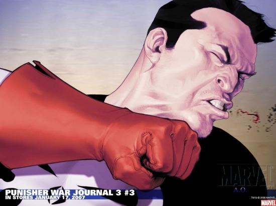 Punisher War Journal (1988) #3 Wallpaper
