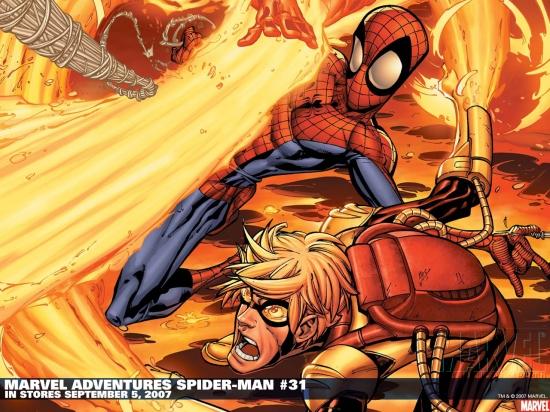 Marvel Adventures Spider-Man (2005) #31 Wallpaper