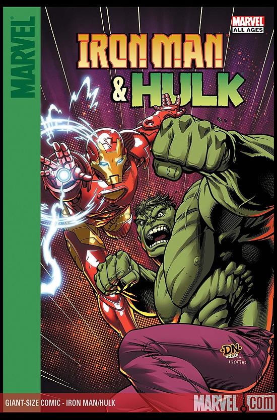 IRON MAN/HULK DIGITAL COMIC 1 (2007) #1 (Giant Size Comic)