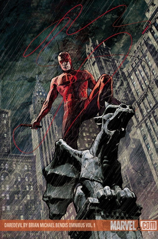 Daredevil by Brian Michael Bendis Omnibus Vol. 1 (Hardcover)