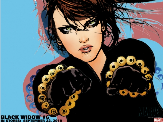 Black Widow (2004) #6 Wallpaper