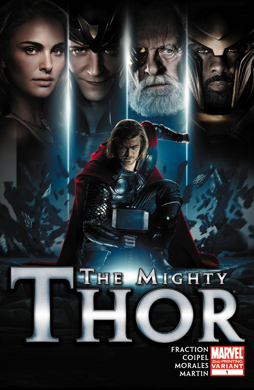 The Mighty Thor (2011) #1 (2nd Printing Variant)