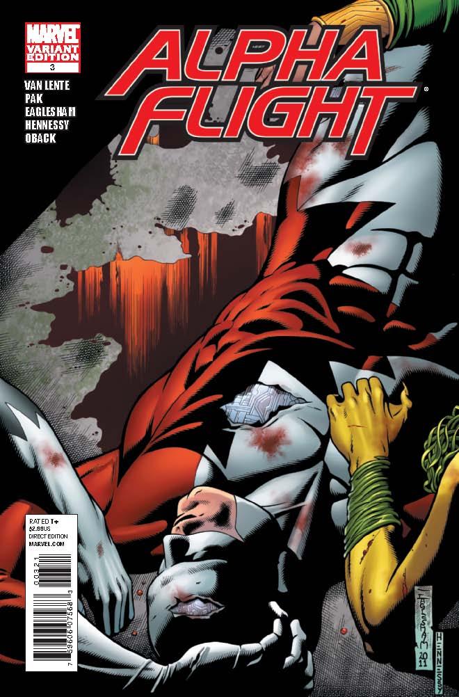 Alpha Flight (2011) #3 (Eaglesham Variant)