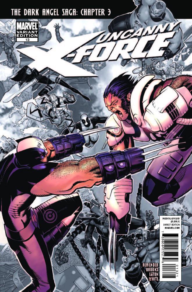 Uncanny X-Force (2010) #13 (Bachalo Variant)