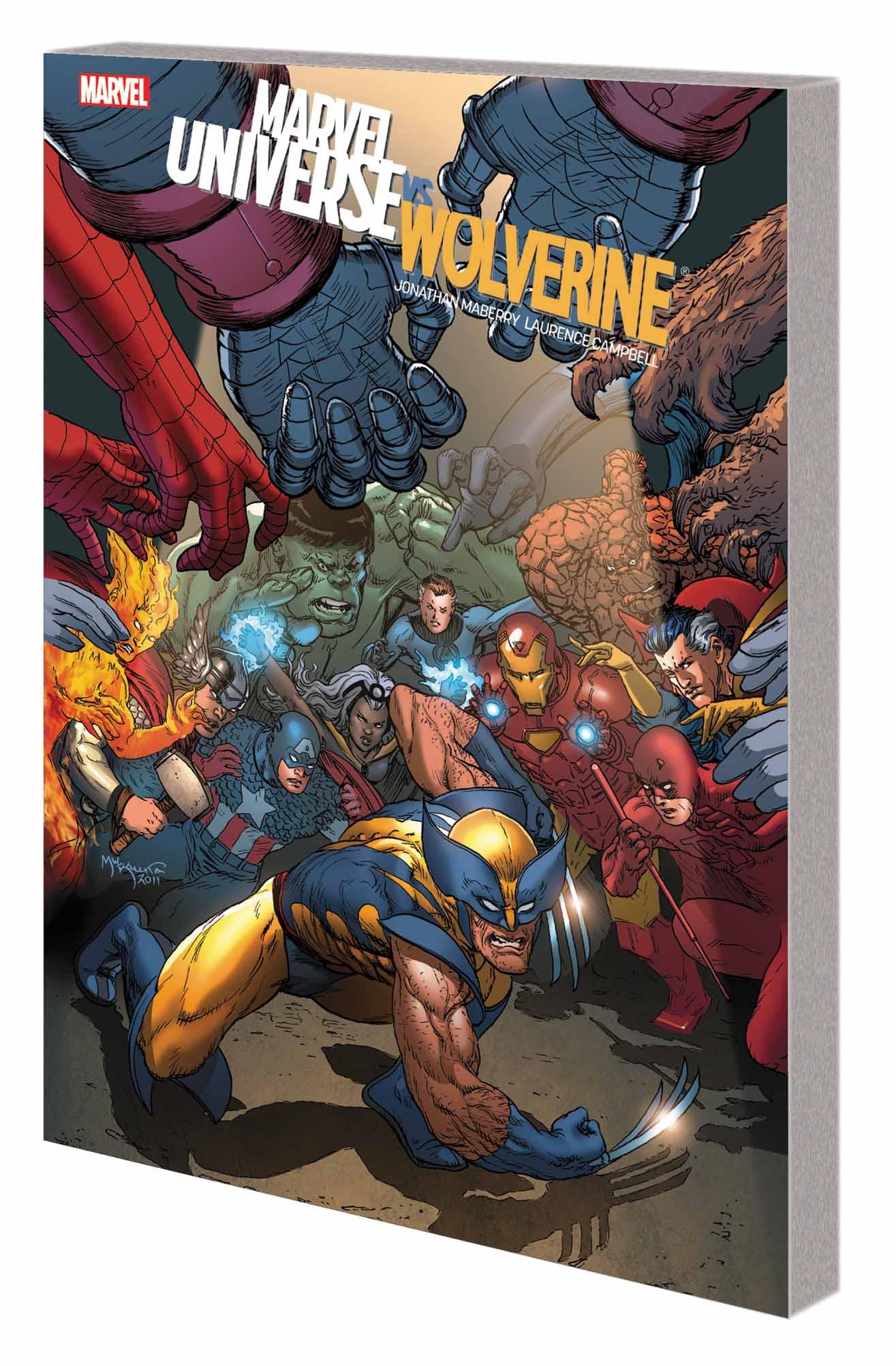 Marvel Universe Vs. Wolverine TPB (Trade Paperback)