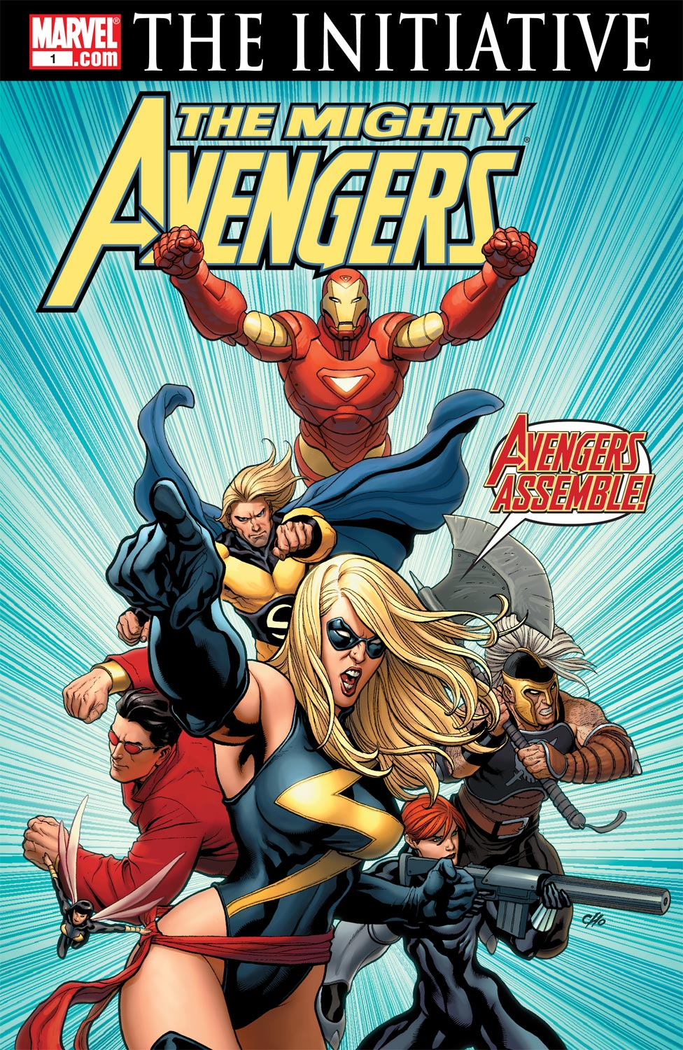 The Mighty Avengers (2007) #1