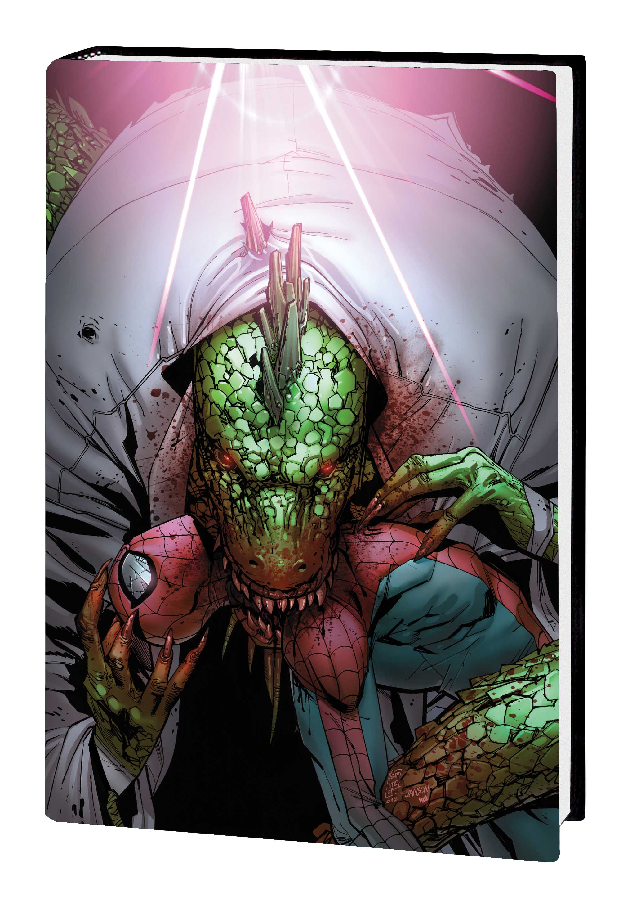 SPIDER-MAN: LIZARD - NO TURNING BACK PREMIERE HC (Hardcover)