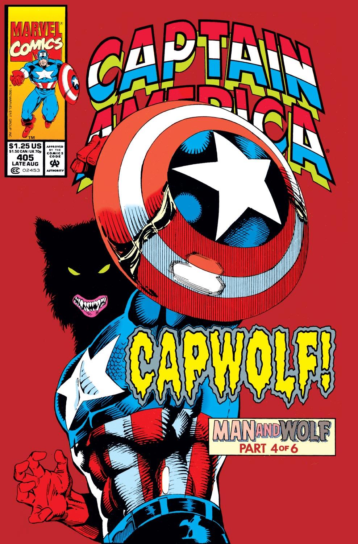 Captain America (1968) #405