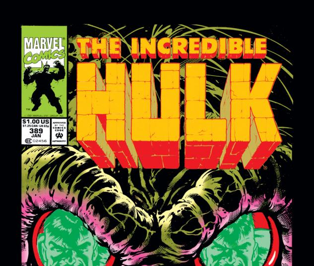 Incredible Hulk (1962) #389 Cover