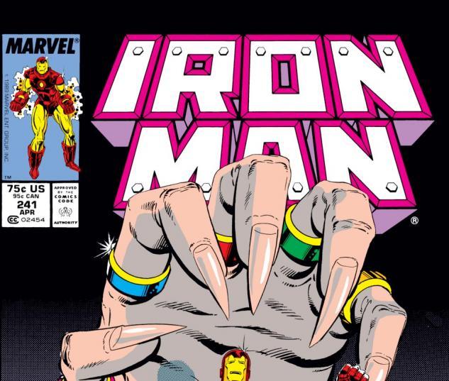 Iron Man (1968) #241 Cover