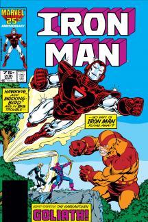 Iron Man #206