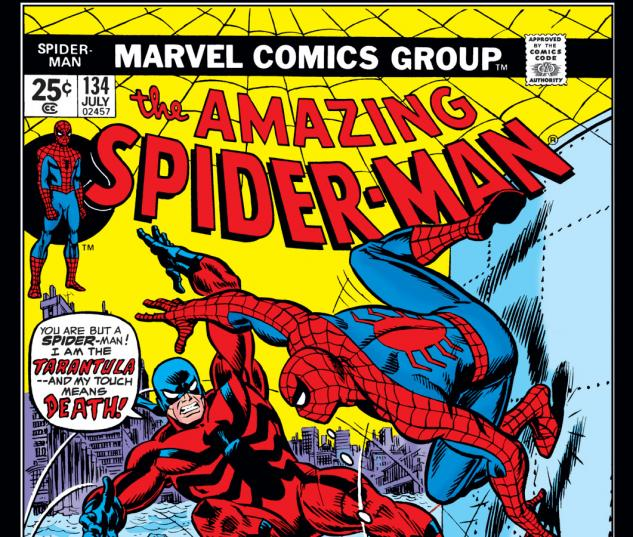 Amazing Spider-Man (1963) #134 Cover