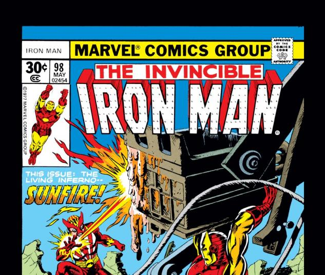Iron Man (1968) #98 Cover