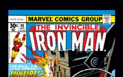 Iron Man (1968) #98 Cover