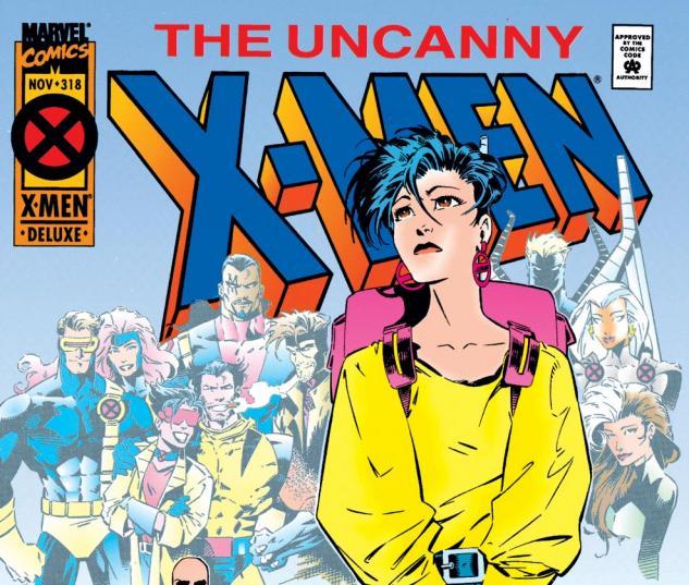 Uncanny X-Men (1963) #318 Cover